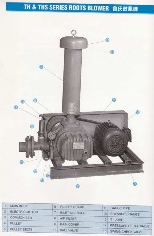 Roots Blower | Shrimp Care Aquaculture Products Supplier And